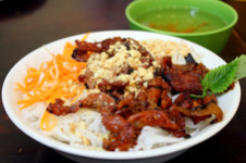 Bun Thit Nuong Top dish - Travel to Ho Chi Minh City