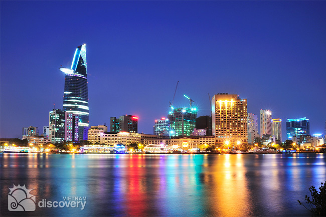Sparkling Saigon view from Saigon River - Things to do in Ho Chi Minh City