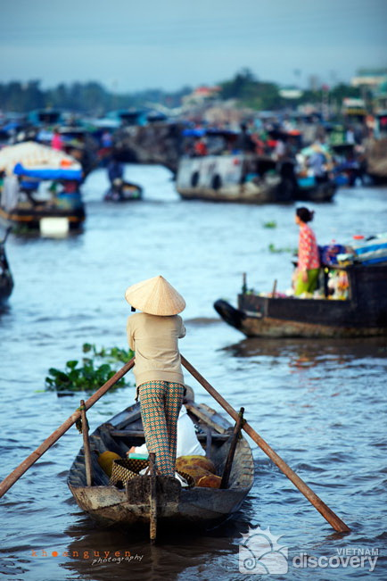 Cai Rang Floating Market Can Tho Vietnam - Mekong Delta tour 2