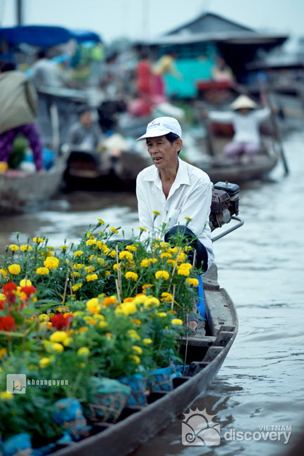 Cai Rang Floating Market Can Tho - Mekong Delta Tour 4