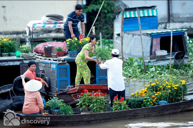 Cai Rang Floating Market Can Tho - Mekong Delta Tour 5