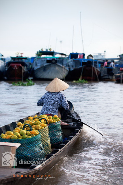 Cai Rang Floating market Can Tho Vietnam - Mekong Delta tour 1