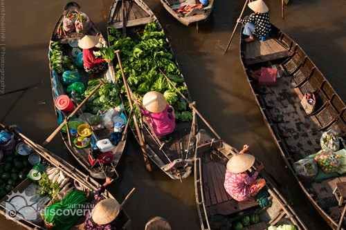Cai Rang Floating Market Can Tho - Mekong Delta Tour 6