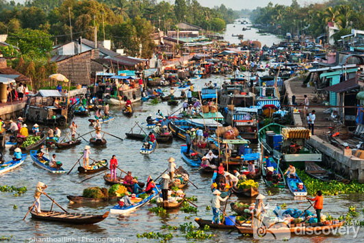 Cai Rang Floating Market Can Tho - Mekong Delta Tour 9