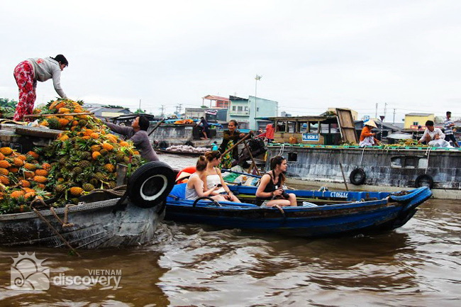 Cai Rang Floating Market Can Tho - Mekong Delta Tour 10