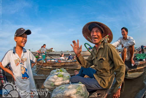 Cai Rang Floating Market Can Tho - Mekong Delta Tour 11