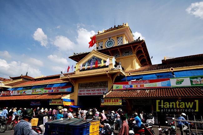 Gate of Binh Tay Market - Ho Chi Minh City tour