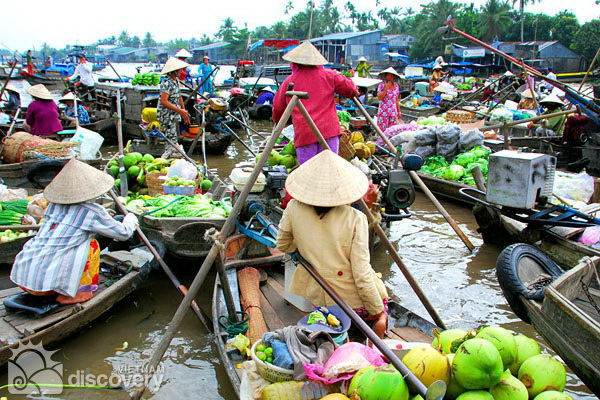 Cai Be Floating Market in Tien Giang - Mekong tour from Ho Chi Minh City