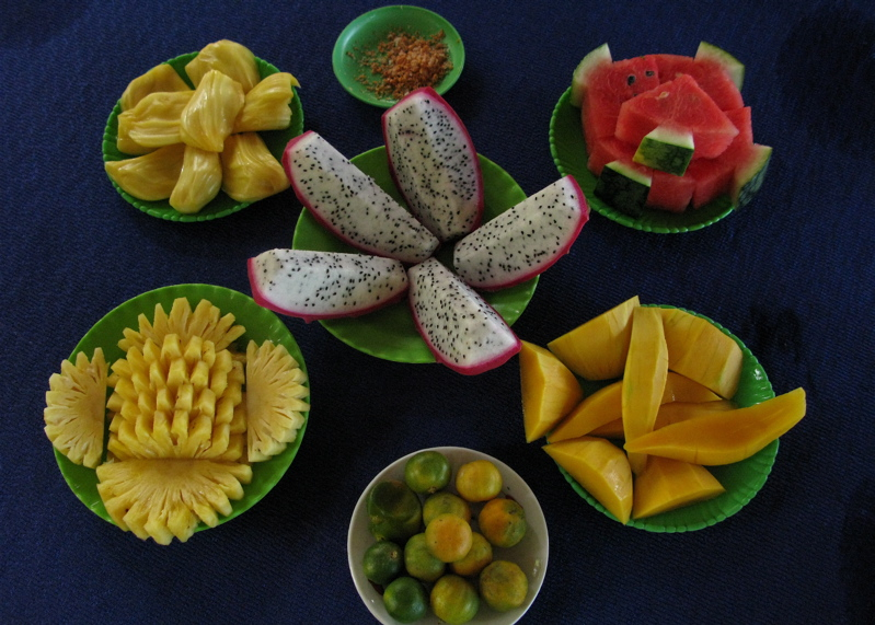 Tropical fruits of Mekong Delta region - Day trip to Mekong from Ho Chi Minh City