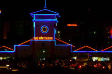 Ben Thanh market at night - Nightlife tour in Ho Chi Minh City