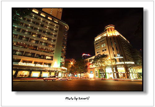 Dazzling Saigon night street - Things to do in Ho Chi Minh City