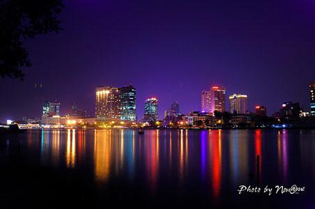 Saigon River at night - thumb image Ho Chi Minh City travel guide