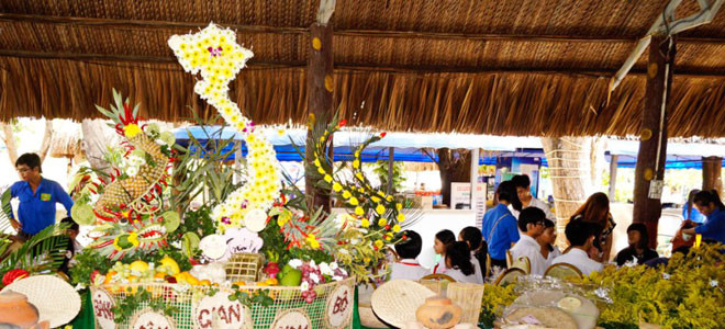 4th Southern folk cake festival - Travel to Can Tho Mekong Delta
