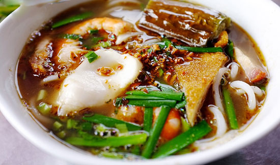 Vermicelli at Ben Thanh Market food map Saigon - Ho Chi Minh City Travel Guide