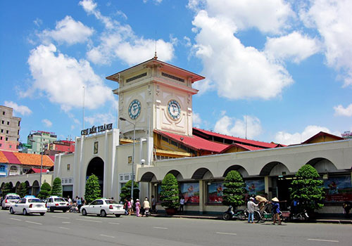 Ben Thanh market - Ho Chi Minh City tour