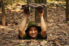 Entrance and exit gate of Cu Chi Tunnels tour from Ho Chi Minh City
