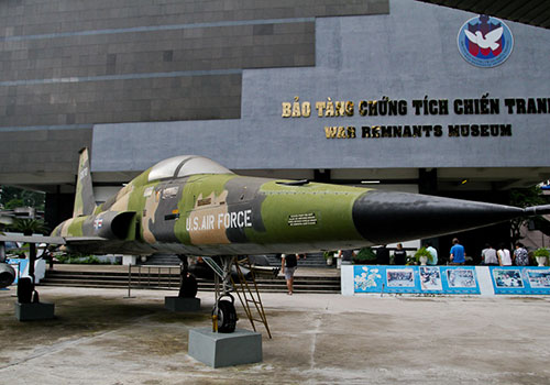 Museum of war remnants - Ho Chi Minh City tour