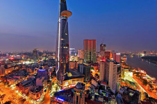 Skydeck in Bitexco Tower - Ho Chi Minh City tour
